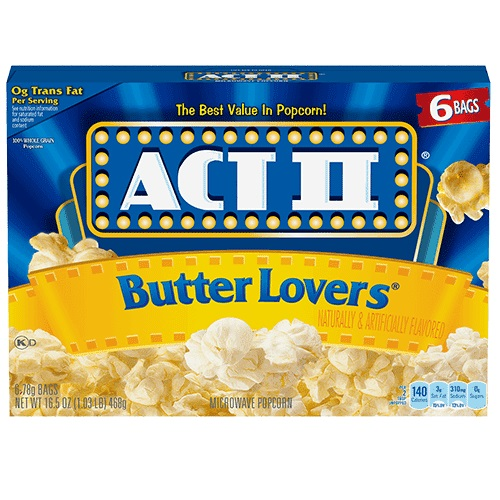 ACT II Butter Lovers thumbnail