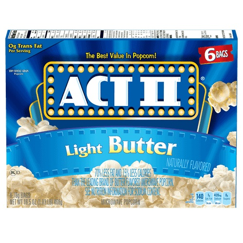 ACT II Light Butter Popcorn thumbnail