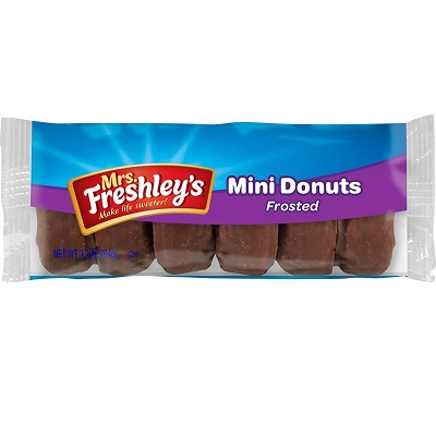 Mrs. Freshley's Chocolate Mini Donuts thumbnail