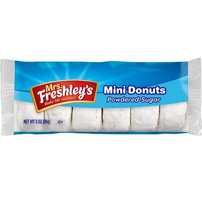 Mrs. Freshley's Powdered Mini Donuts thumbnail