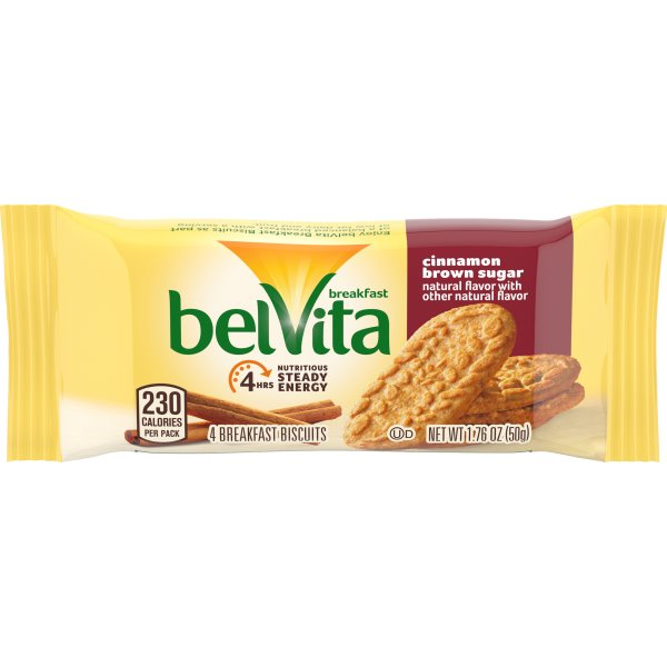 Belvita Cinnamon Brown Sugar Breakfast Biscuits thumbnail