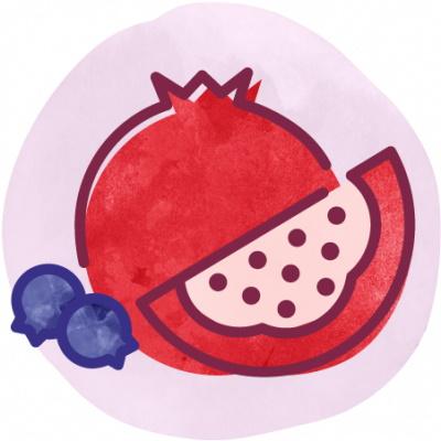 BEVI Pomegranate Blueberry thumbnail