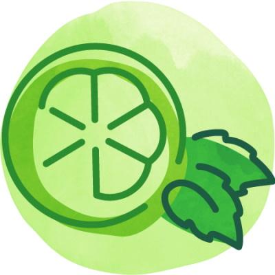 Bevi Lime Mint (Unsweet) thumbnail