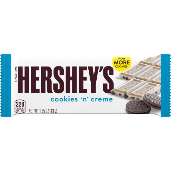 Hershey's Cookies & Creme thumbnail