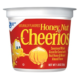 Honey Nut Cheerios Cereal Cup thumbnail
