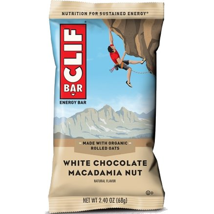 Clif Bar White Chocolate Macadamia thumbnail