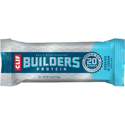 Clif Bar Builder Cookies N Cream thumbnail