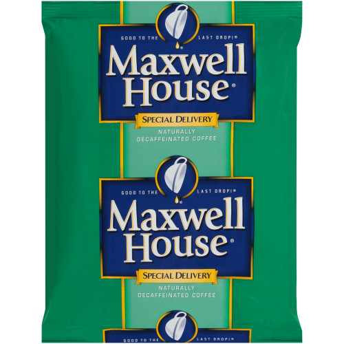 Maxwell House Special Delivery Decaf 1.3oz thumbnail
