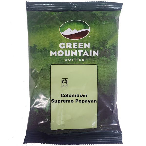 Green Mtn Colombian Supremo Popayan 2.2 oz thumbnail