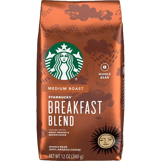 Starbucks Whole Bean Breakfast Blend thumbnail