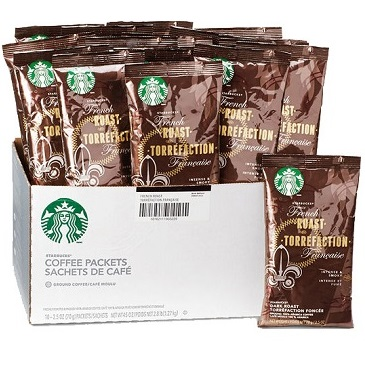 Starbucks Pack French Roast 2.5oz thumbnail
