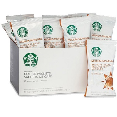 Starbucks Pack Breakfast Blend 2.5oz thumbnail