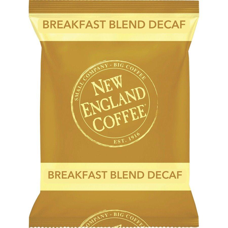 New England Coffee Breakfast Blend Decaf 42/1.75oz Frac Packs thumbnail