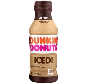 Dunkin Donuts Espresso Iced Coffee 13.7oz thumbnail