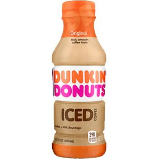 Dunkin Donuts Original Iced Coffee 13.7oz thumbnail