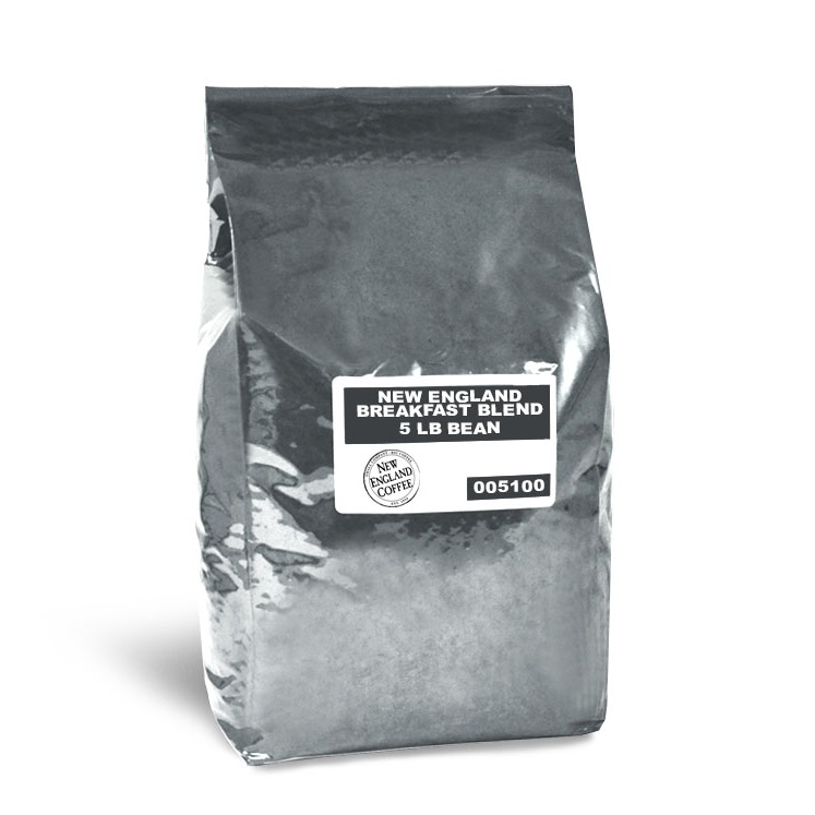New England Coffee Breakfast Blend Whole Bean 5lb thumbnail