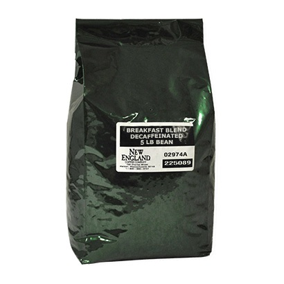 New England Coffee Breakfast Blend Decaf Whole Bean 5lb thumbnail