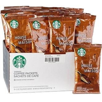 Starbucks Pack Decaf House Blend 2.5oz thumbnail