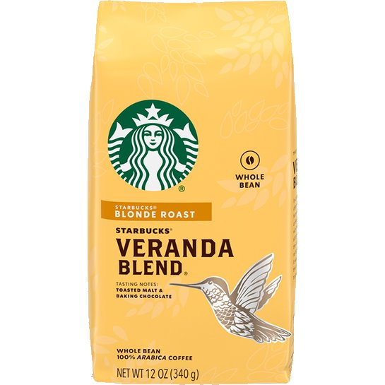 Starbucks Whole Bean Veranda Blend thumbnail