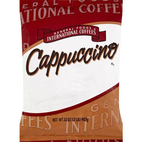 General Foods Interational French Vanilla Cappuccino 2lb thumbnail