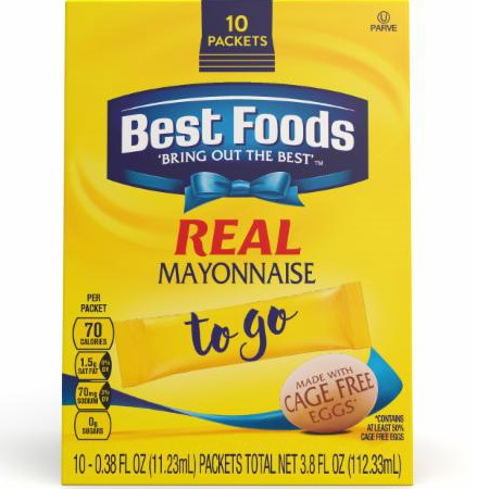 Best Foods Mayonnaise Packets thumbnail