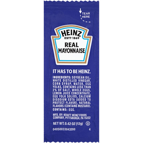 Heinz Mayo Packets thumbnail
