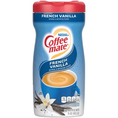 Coffeemate Cream Can French Vanilla 15 oz thumbnail