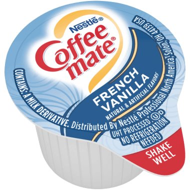 Coffeemate French Vanilla Liquid Cream Cups 50ct thumbnail