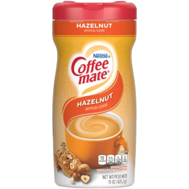 Coffeemate Cream Can Hazelnut 15oz thumbnail