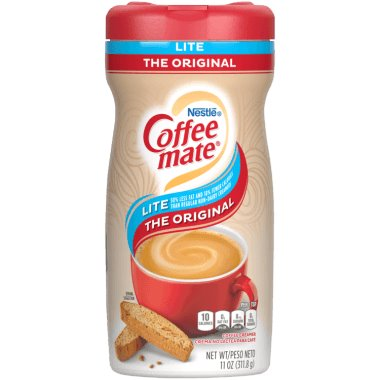 Coffeemate Cream Can Lite Original 11oz thumbnail