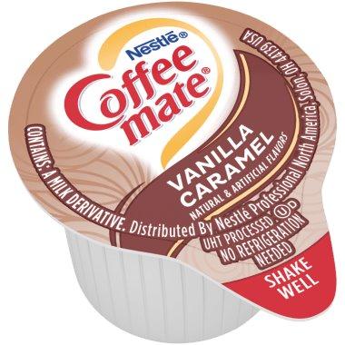 Coffeemate Vanilla Caramel Liquid Cream Cups thumbnail
