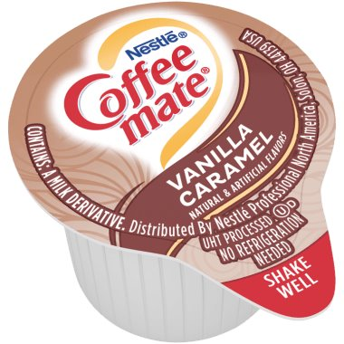 Coffeemate Vanilla Caramel Liquid Cream Cups 50ct thumbnail