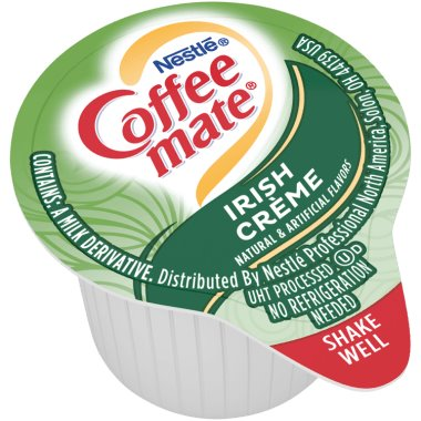 Coffeemate Irish Cream Liquid Cream Cups 180ct thumbnail
