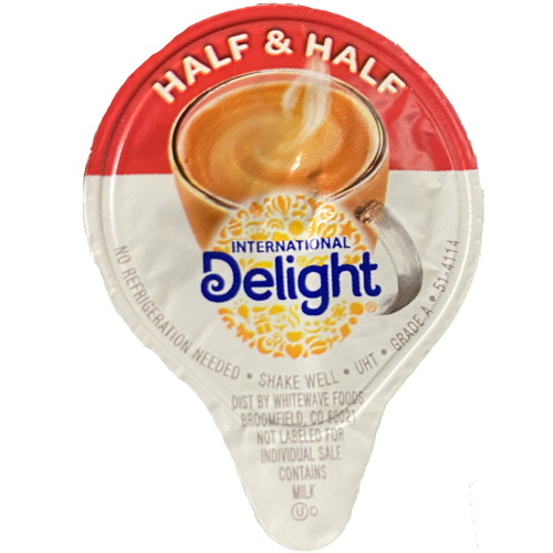 International Delight Half & Half Creamer Mini 180ct thumbnail