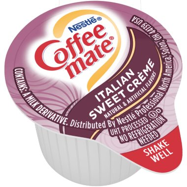 Coffeemate Italian Sweet Creme Liquid Cream Cups 180ct thumbnail