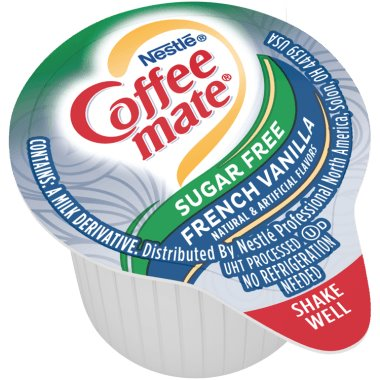 Coffeemate Sugar Free French Vanilla Liquid Cream Cups 50ct thumbnail