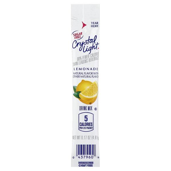Crystal Light On The Go Lemonade thumbnail