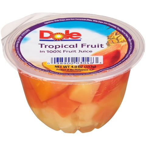 Dole Tropical Fruit Salad 7oz thumbnail