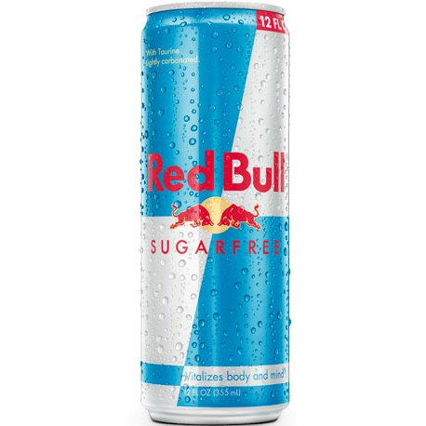 Red Bull Sugar Free 12 oz. thumbnail