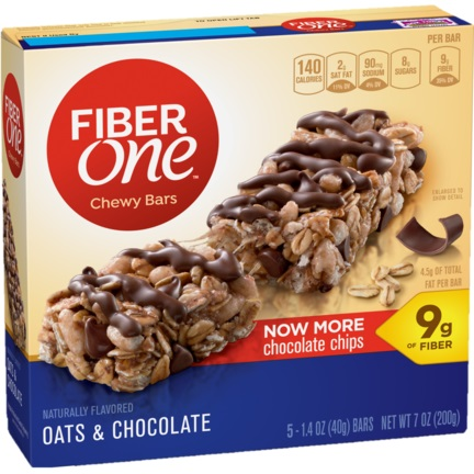 Fiber One Chocolate & Oats thumbnail