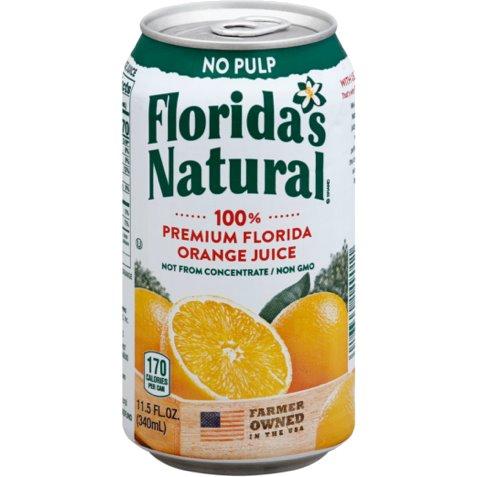 Florida Natural 100% Orange Juice 11.5oz thumbnail