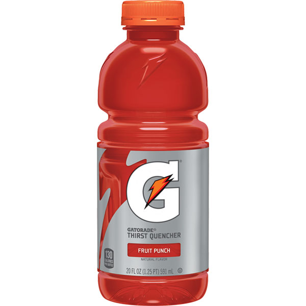 Gatorade Fruit Punch 20 oz thumbnail