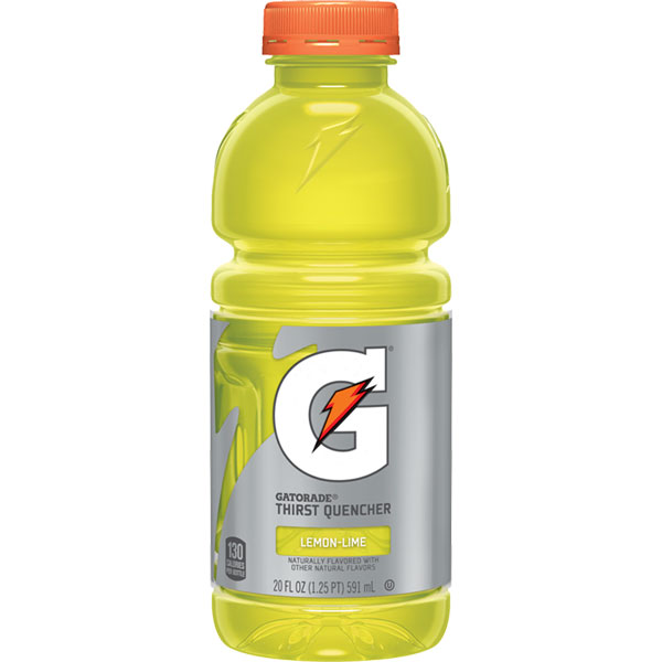 Gatorade Lemon Lime 20oz thumbnail