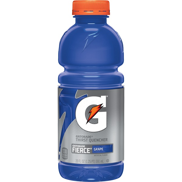 Gatorade Fierce Grape 20oz thumbnail