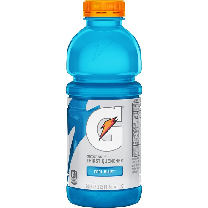Gatorade Cool Blue Raspberry 20oz thumbnail
