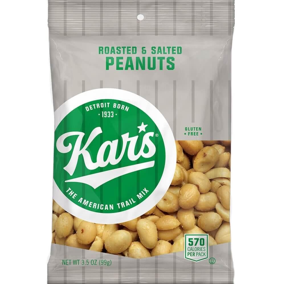 Kars Salted Peanuts 3.5oz thumbnail