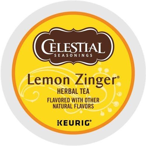 K-Cup Celestial Lemon Zinger Tea thumbnail