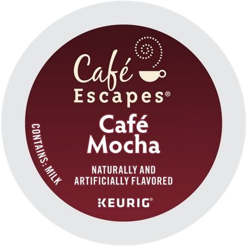 K-Cup Cafe Escapes Cafe Mocha thumbnail
