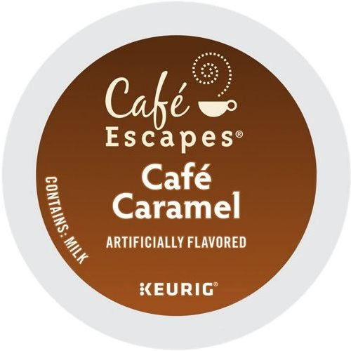 K-Cup Cafe Escapes Caramel Cappuccino thumbnail