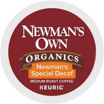K-Cup Green Mtn Decaf Newman's Own thumbnail